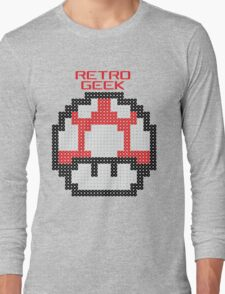 Retro Geek - Get Big Long Sleeve T-Shirt