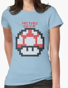 Retro Geek - Get Big Womens Fitted T-Shirt