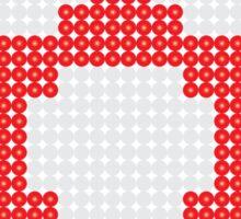 Retro Geek - Get Big Sticker