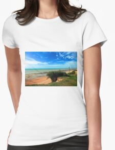 Bexhill Coastline Womens Fitted T-Shirt