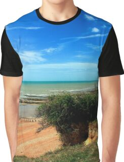 Bexhill Coastline Graphic T-Shirt
