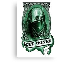 get money Canvas Print