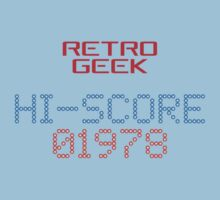 Retro Geek - Hi-Score One Piece - Short Sleeve