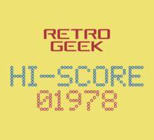 Retro Geek - Hi-Score Kids Tee