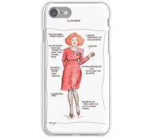 Twin Peaks Fire Walk With Me - Lil The Dancer iPhone Case/Skin