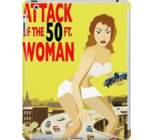 Attack of the 50Ft Woman iPad Case/Skin