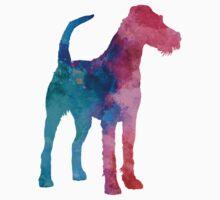 Irish Terrier in watercolor Kids Tee