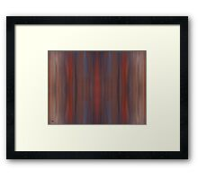 ABSTRACT 726 Framed Print