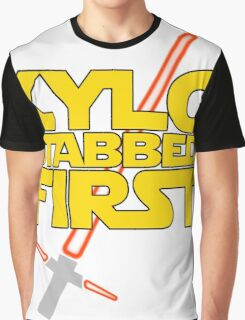 Kylo Stabbed First (Star Wars episode VII) Graphic T-Shirt