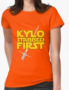 Kylo Stabbed First (Star Wars episode VII) T-Shirt