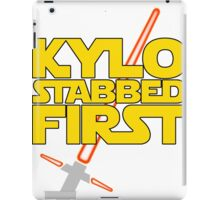 Kylo Stabbed First (Star Wars episode VII) iPad Case/Skin