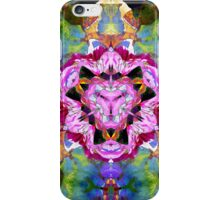 Flowers Mirrored Abstract iPhone Case/Skin