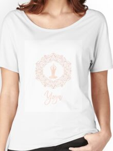 Yoga Amazing Pink Women's Relaxed Fit T-Shirt