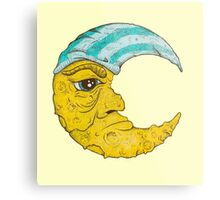 Old Man Moon Metal Print