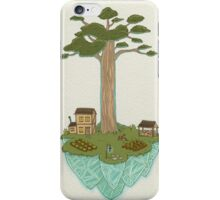 Totara House - Small Worlds iPhone Case/Skin