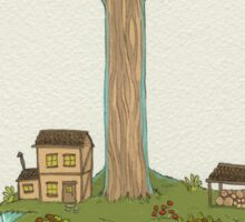 Totara House - Small Worlds Sticker