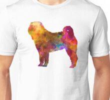 Shar Pei in watercolor Unisex T-Shirt