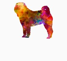 Shar Pei in watercolor Unisex T-Shirt