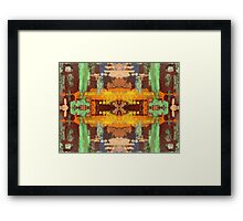 ABSTRACT 522 Framed Print