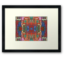 ABSTRACT 524 Framed Print