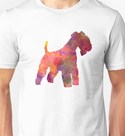 Lakeland Terrier in watercolor Unisex T-Shirt