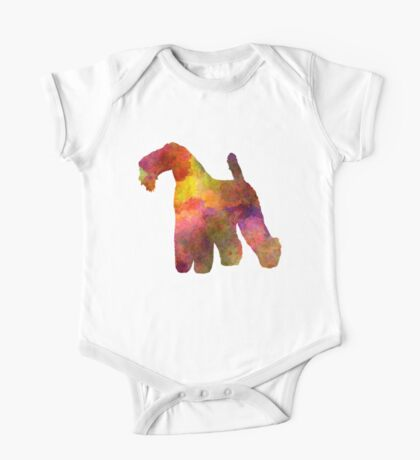 Kerry Blue Terrier 02 in watercolor One Piece - Short Sleeve