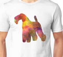 Kerry Blue Terrier 02 in watercolor Unisex T-Shirt