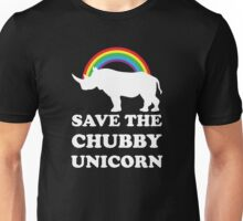 Save The Chubby Unicorn Unisex T-Shirt