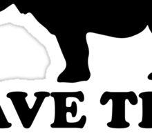 Save The Chubby Unicorn Sticker