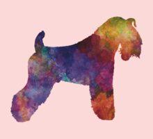 Kerry Blue Terrier 01 in watercolor One Piece - Long Sleeve
