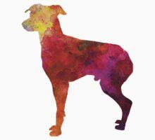 Japanese Terrier in watercolor One Piece - Short Sleeve