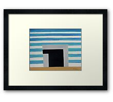 ABSTRACT 483 Framed Print