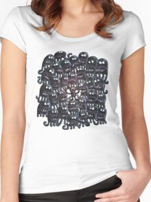 Surrounded Women's Fitted Scoop T-Shirt