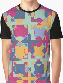 Seamless pattern. Colorful psychedelic design. Graphic T-Shirt