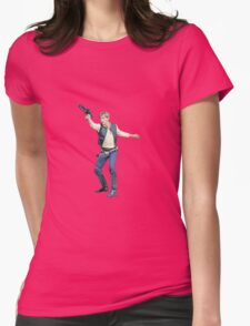 sw - han solo Womens Fitted T-Shirt