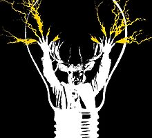 Deer lightning Bulb by monsterplanet