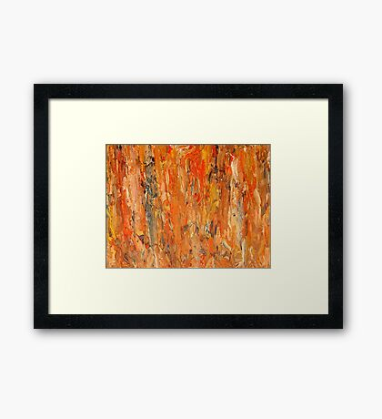 ABSTRACT 741 Framed Print