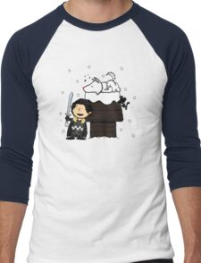 Snow Peanuts Men's Baseball ¾ T-Shirt