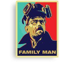"Breaking Bad: Walter White ""Family Man"" Canvas Print"