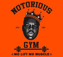 Notorious Gym Mo Lift Mo Muscle Kids Tee