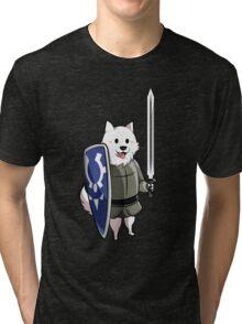 Undertale Lesser dog Tri-blend T-Shirt