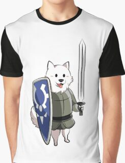 Undertale Lesser dog Graphic T-Shirt