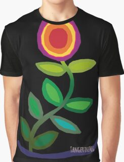 Thriving Flower Graphic T-Shirt