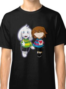Undertale Asriel and Frisk Together  Classic T-Shirt