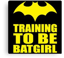 Training To Be Batgirl Canvas Print