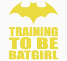 Training To Be Batgirl Baby Tee