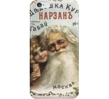 Old russian poster, Moscow 1890 iPhone Case/Skin
