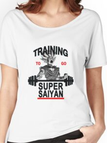 Training to go super saiyan - Gohan Women's Relaxed Fit T-Shirt