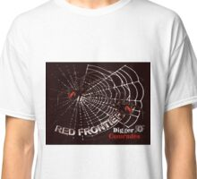 Red Frontier Australian Digger Comrades Redback Spider  Classic T-Shirt