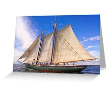 Sailing With The Lettie Greeting Card